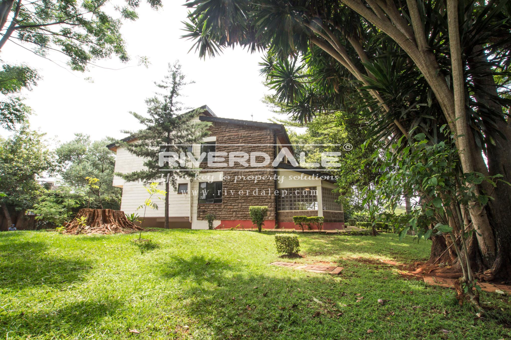 Attractive 5 Bedroom House For Sale Or To Let In Gigiri